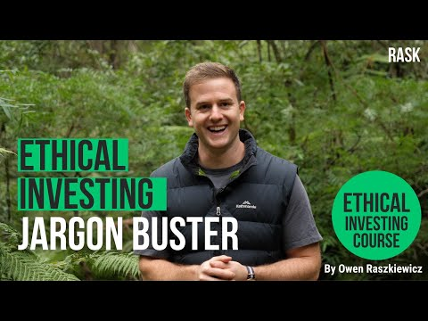 Ethical investing jargon buster: ESG, RIAA, impact & sustainable investing explained   Rask