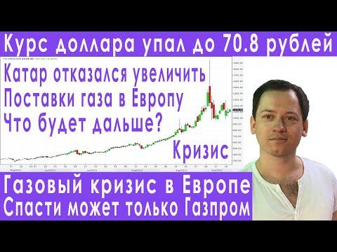 Газовый кризис в Европе падение курса доллара прогноз курса доллара евро рубля валюты на ноябрь 2021