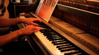 "Zero 7- ""In the Waiting Line"" piano solo cover"
