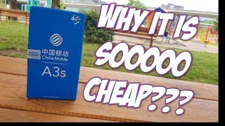 China Mobile A3s Unboxing&Hands on! The best super cheap smartphone of 2018?