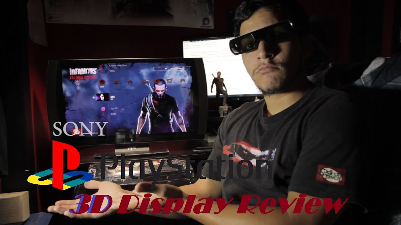 Playstation 3D display Review and Comparison - YouTube