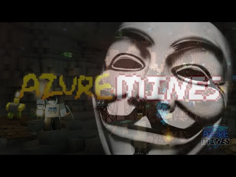 ROBLOX | Azure Mines | HACKED BY POODLECORP