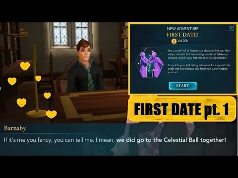 💖FIRST DATE💖Harry Potter Hogwarts Mystery Side Quest Gameplay Walkthrough Part 1