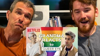 Indian Grandma reacts to Queer Eye REACTION!!