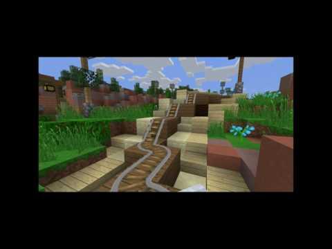 New 7 Dwarfs Mine Train | MCParks | Minecraft