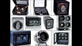 шкатулки для часов с автоподзаводом и виндеры. Как выбрать