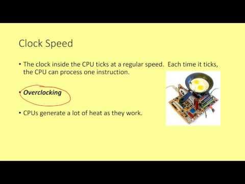 GCSE  Computer Architecture 4 - Computer Performance