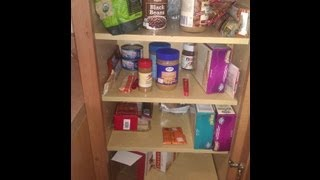 Repeat youtube video Day 9- Spice cabinet and pantry