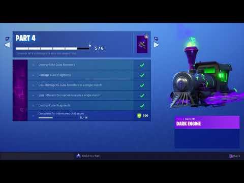 Complete Fortnitemares Challenges 5/14