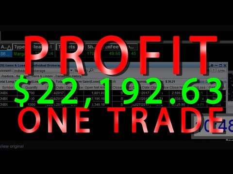Day Trading Lessons Profit $22,192.63 In One Trade