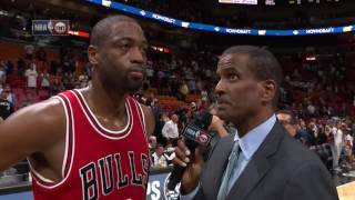 Dwyane Wade Returns To Miami For The First Time!