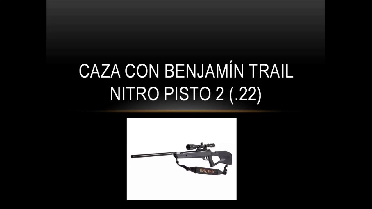 caza chile benjamin nitro piston 2 ( 22)