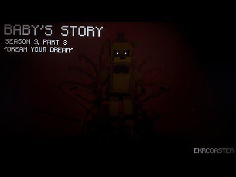 """Dream Your Dream"" | FNAF Minecraft Animation (TryHardNinja) [Baby's Story]"