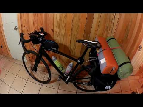 Arkansas River Valley Cycle Tour Part 1 Bike and Panniers
