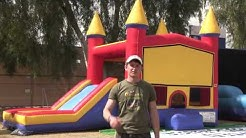 AZ Bounce 4 Kids ,Water Slide Event and Party Rentals-Video