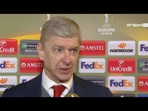 Wenger Post Match Interview | Ostersunds FK vs Arsenal FC 0-3 | UEL 15/02/2018 HD