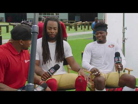 Behind the Scenes: 49ers camp with Marquise Goodwin, Richard Sherman,& Steve Smith