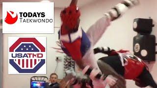 Taekwondo Sparring | USA Camp 2018