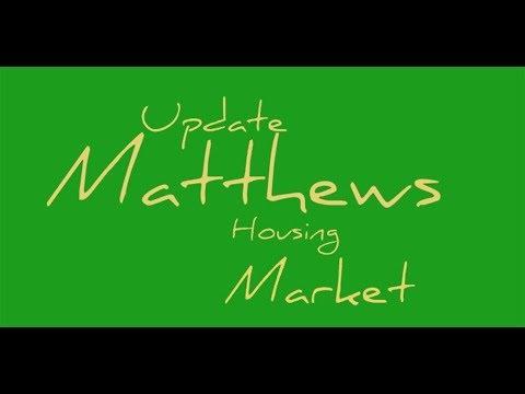 Matthews Housing Market Report Video For December 2017