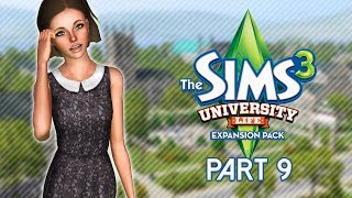 Let's Play The Sims 3: University Life | Part 9 - Family & House Tour
