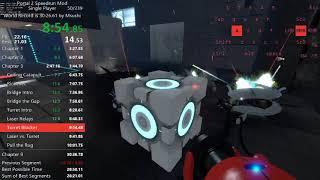 Portal 2 Speedrun Mod in 30:17 [WORLD RECORD]