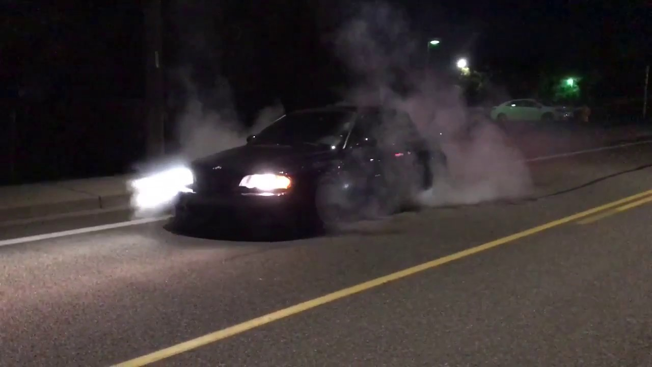 Burble tune E46 M3 burnout
