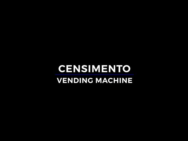 Censimento Vending Machine