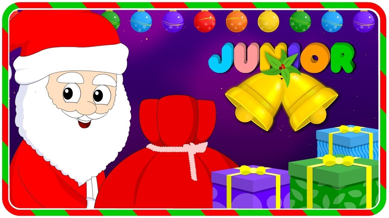 Jingle Bells   Christmas Carol   Christmas Songs For Kids   Nursery Rhymes Junior - YouTube