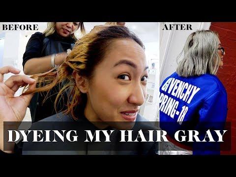 Dyeing My Hair Gray   Laureen Uy