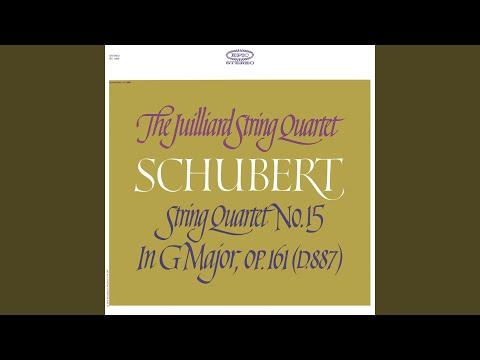 String Quartet No. 15 in G Major, Op. 161 (Remastered) : I. Allegro molto moderato