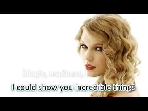Blank Space - Taylor Swift (LYRICS WITH AUDIO)