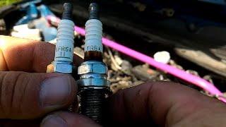 kIA Sportage 2010- бензин 2,0 - Замена свечей зажигания  парт номер катушек зажигания