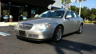 Autoline Preowned 2007 Buick Lucerne V6 CXL For Sale Used Walk Around Review Test Drive Jacksonville