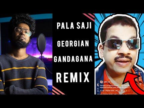 Georgian Gandagana Remix ft. Pala Saji 😎   Dialogue With Beats   Ashwin Bhaskar