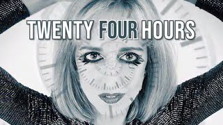 Cling 24 Hours Official Enhanced Lyric Video  - Electronic Pop meets Future Bass