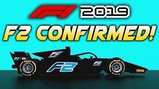 F1 2019 Game   FORMULA 2 CONFIRMED!!! (F2 Cars in F1 2019 Game)