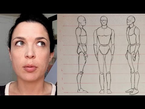 Watts Atelier Online - Figure Drawing Phase 1 - Basic Proportions - #024