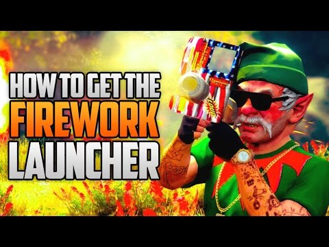 GTA 5 Online - HOW TO GET THE FIREWORK LAUNCHER & AMMO FOR FREE! (GTA 5 Glitches & Tricks)