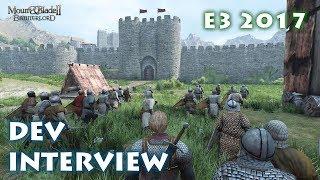 Video E3 2017  Dev Interview - Mount and Blade II: Bannerlord download MP3, 3GP, MP4, WEBM, AVI, FLV Juni 2017