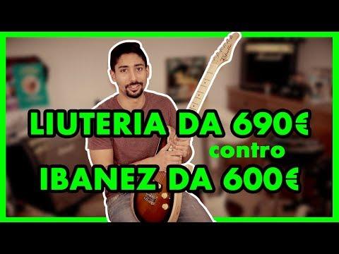 Confronto CHITARRA FATTA a MANO da 690€ e IBANEZ da 600€ - Recensione Gianand Ribelle