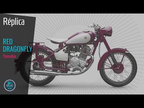 💥Yamaha do Brasil cria uma réplica da YA-1 RED DRAGONFLY, a sua primeira moto do mundo!