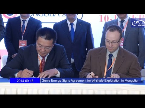 Genie Energy Signs Agreement for oil shale Exploration in Mongolia