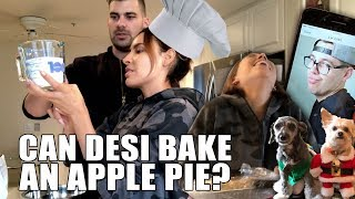 CAN DESI BAKE AN APPLE PIE? | THE PERKINS