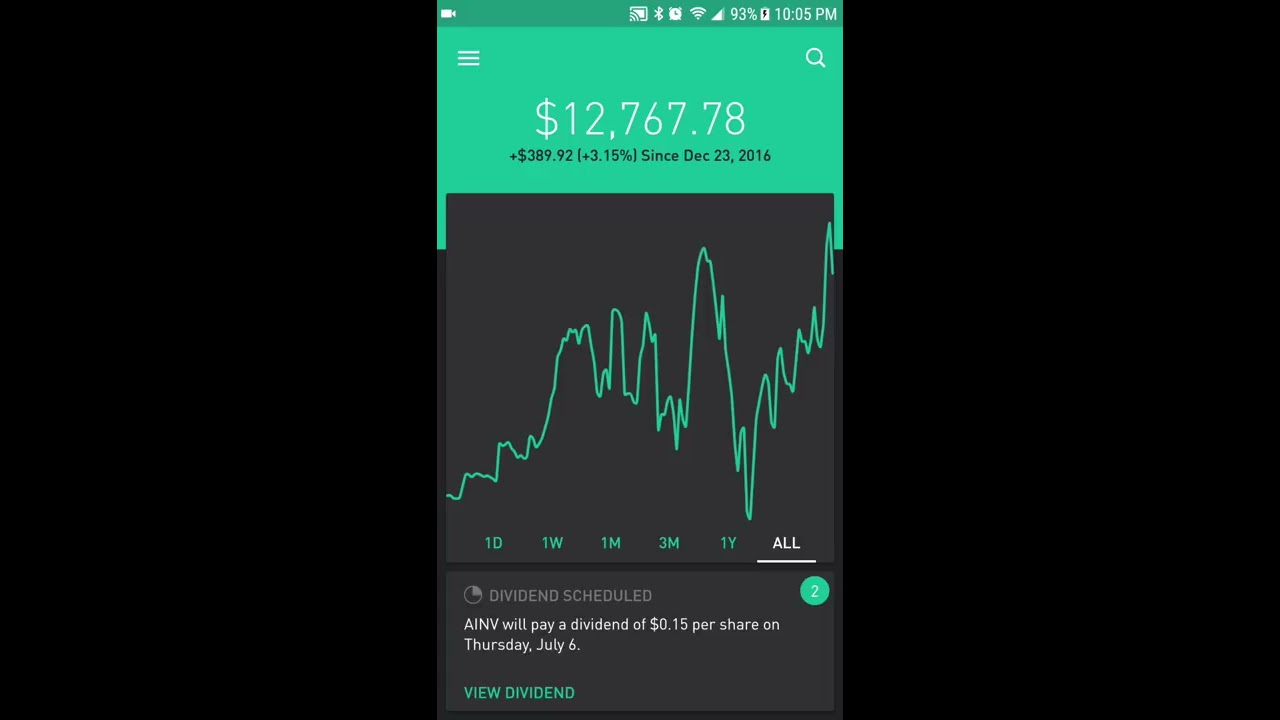 how to open a robinhood account