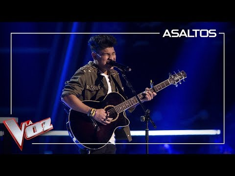Lion canta 'Fix you' | Asaltos | La Voz Antena 3 2019