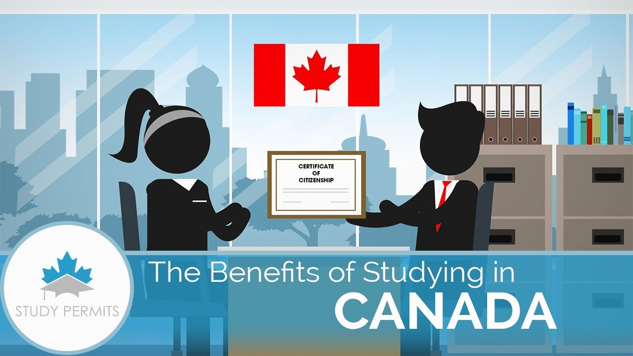 Benefits of Studying in Canada   StudyPermits - YouTube