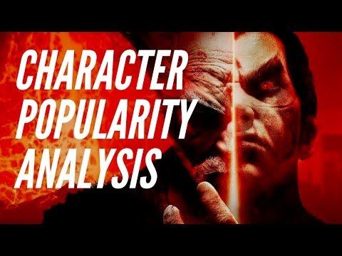 Online Pick Rates: Tekken 7 Concepts