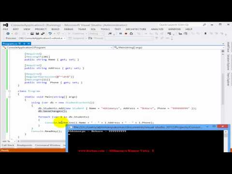 Playing with Entity Framework's Code First Database Migration
