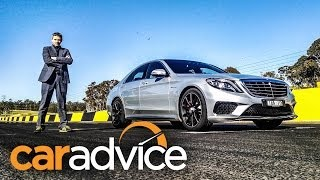 Mercedes Benz S63 AMG Review: Track Test