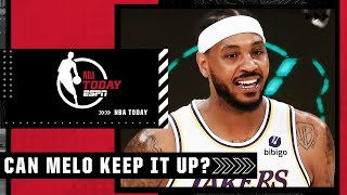 Carmelo Anthony was ON FIRE vs. Memphis - How long can he keep it up? | NBA Today